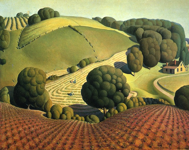 Grant Wood - Young Corn