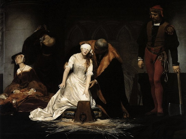 Lady Jane Grey's Execution - Delaroche
