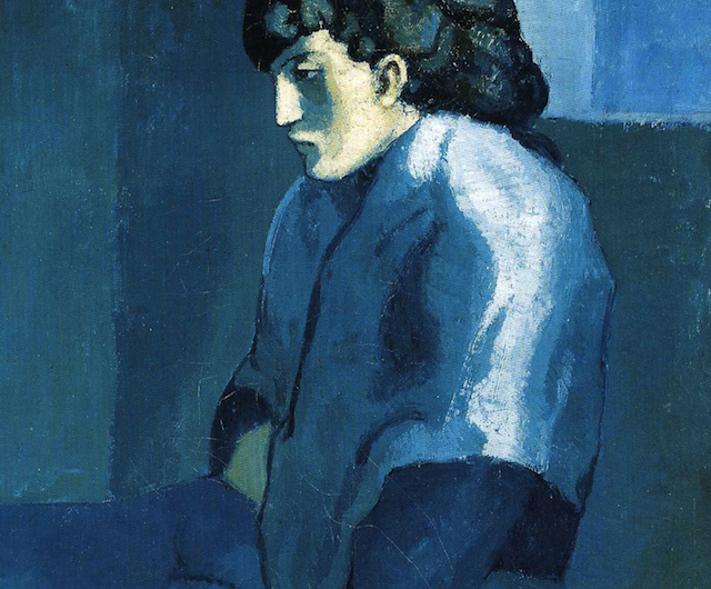 Melancholy Woman by Picasso