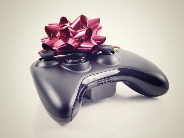 Christmasy console controller