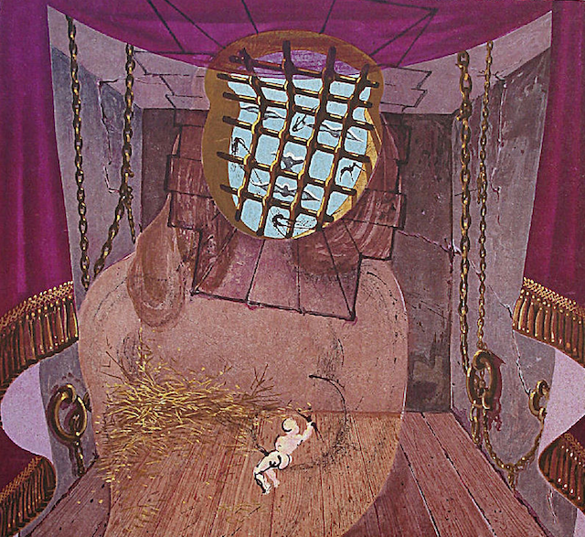 The Prison by Salvador Dali