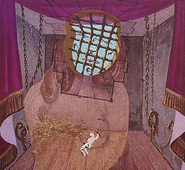 The Prison by Salvador Dali