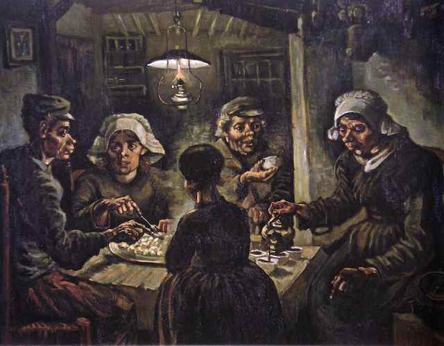 The Potato Eaters by Van Gogh