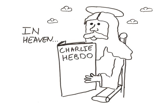 GodReadCharlieHebdo